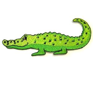 Alligator Patch iron on Crocodile patches DIY